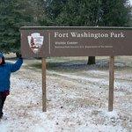Entrance to Fort Washington