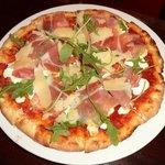 "new brick oven pizza ""captain G"" pizza"
