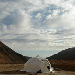 Our dome nomad camps