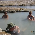 Polloquere hotsprings at Surire salt flat