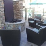 Relaxing firepit at the Residence Inn