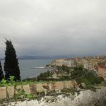 View from New Fortress, Corfu