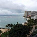 view from 8th floor oceanfront.