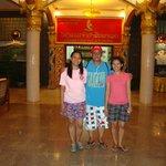 Champasak Palace Hotel entrance