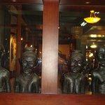 Champasak Palace Hotel lobby
