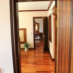 Walkway through family suite (3 joining rooms)