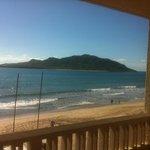 Vista maravillosa, sonido del mar