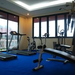 Can't believe, Hotel reserve gym that is incredible fuction
