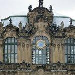 Часть  Дрезденской галереи