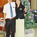 M. le Directeur et Melle Mia (réception)