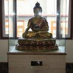 BUDDHA'S WELCOME STATUE