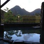 露天風呂からの眺め」