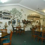 Dining Room Mural there