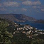 udsigt over Elounda og Korfosbay