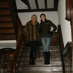 Staircase with Shazza and Jade