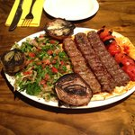 Syrian Mix grilled Platter