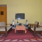 living/reception area