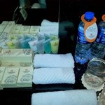 free water & amenities