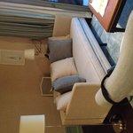 Suite:  living area.