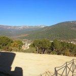 Vista desde la almena del Valle del Tietar