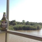 an ice-cold brew along the Olifants River