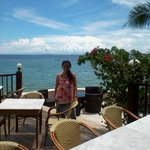 Me at alfresco at Cebu Marine