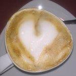 café con leche al desayuno