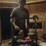 soirée dans le barbecue filandais