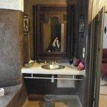 vasque de la salle de bain Sultane