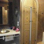 salle de bain de la chambre Sultane