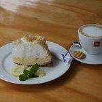 Lemon Meringue and illy coffee