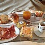 Ottima, la colazione personalizzata e servita in camera ❤️������