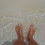 Natural foot masage