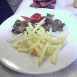 Filete con patatas