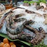Seafood restaurants at Chatchai Market