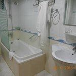 В ванной кое где плесень