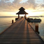 Going to Piano Deck - Jetty sunset