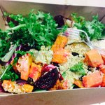 Roasted veg salad box