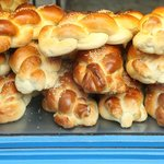 Challah at Bakery on Rue des Rosiers
