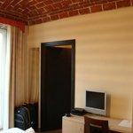 Apartamento com detalhe do teto totalmente rustico