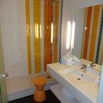 The bathroom - very energetic!