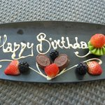 Surprise birthday wishes!