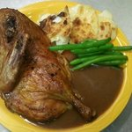 Roasted Duck with Orange Sauce