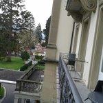 vue du balcon de chambre