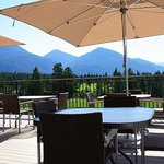 Traders Lounge Patio at Eagle Ranch Resort
