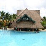Bar de piscine du Caribe