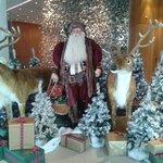 Santa at President hotel wilson