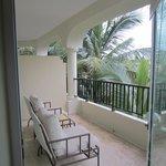 One bedroom master suite patio