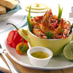 Hot Pepper Shrimp