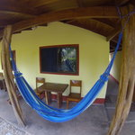 Hammocks at Indra Inn